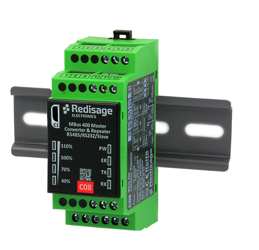 C08 MBus 400 to RS232/RS485/Slave Converter 1kV DC Isolation