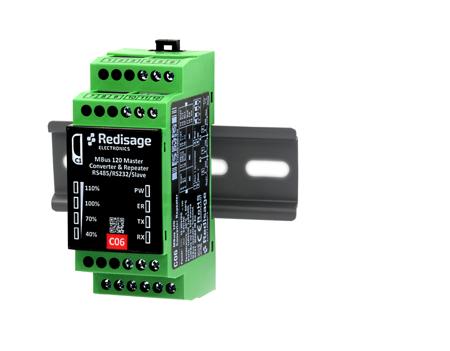 C06 M-Bus converter/repeater